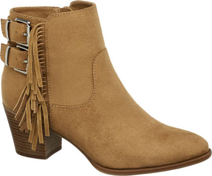 Graceland Fringed Ankle Boots