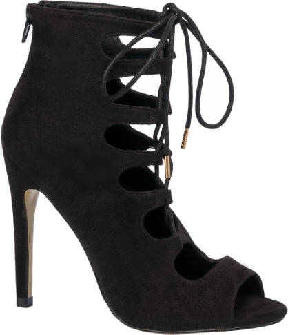 Catwalk Heeled Ghillie Shoes