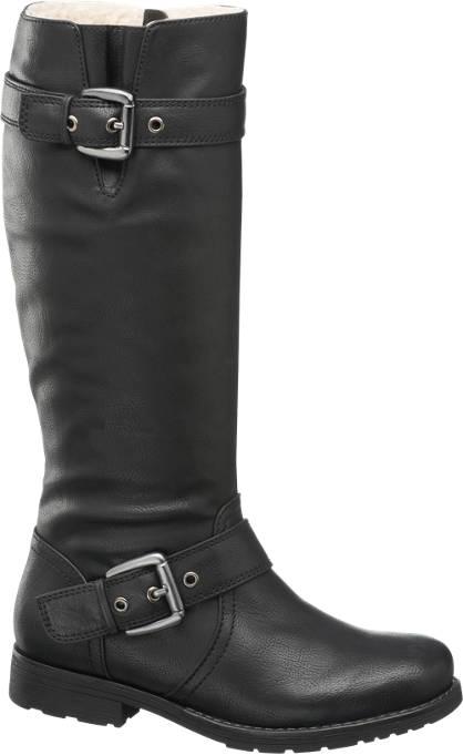 Graceland High Leg Biker Boots