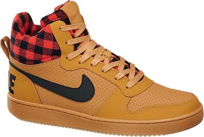 NIKE Homokszínű NIKE COURT BOROUGH MID magasszárú cipő