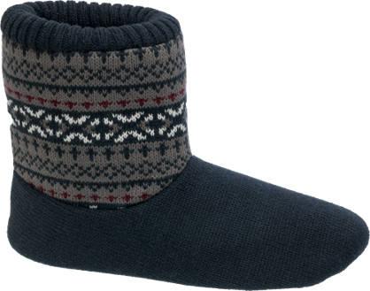 Knitted Slipper Boot