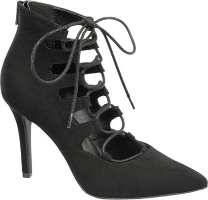 Catwalk Lace Up Pumps