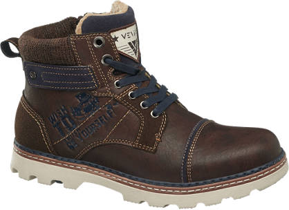 Venice Lace-up Casual Boots