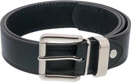 Black Stitch Detail Belt