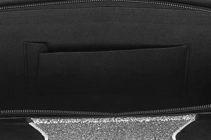 Graceland Ladies Glitter Panel Clutch Bag