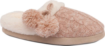 Knit Mule Slipper