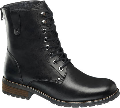 5th Avenue Lace-up Ankle Boots