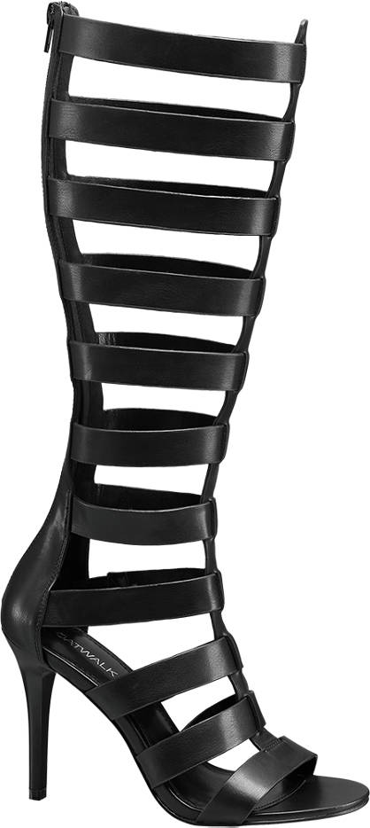 Catwalk High Leg Heeled Sandal
