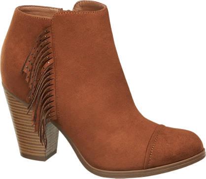 Graceland Fringed Ankle Boots