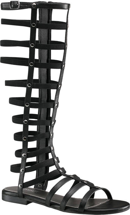 Catwalk High Leg Gladiator Sandals