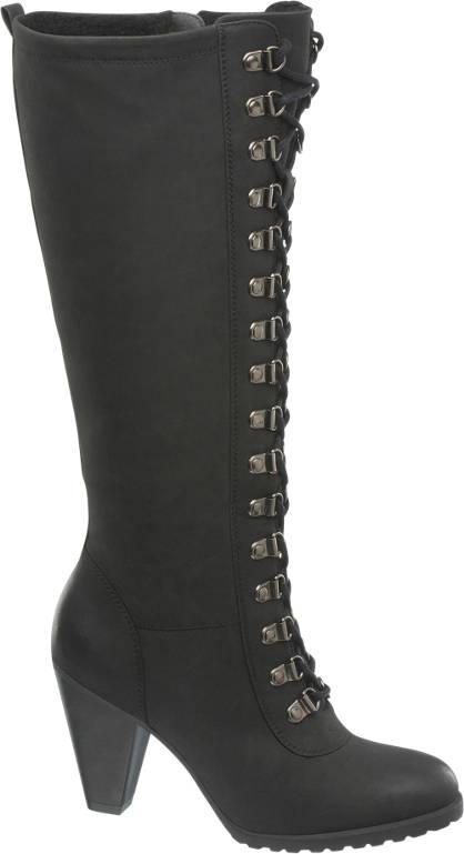 Graceland Langskaftet Snørestøvle