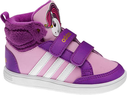 adidas neo label Lila magasszárú HOOPS ANIMAL MID INF cipő