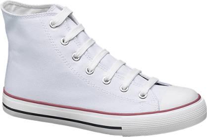 Vty Magasszárú vászon cipő