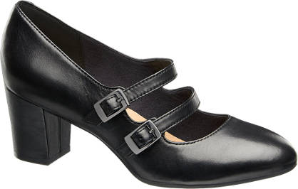 5th Avenue Mary Jane Læderpumps