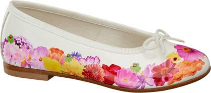 Cupcake Couture Ballerinas mit Blumen-Motiv