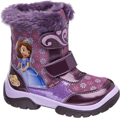 Sofia the First Snowboots gefüttert