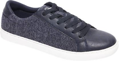 Memphis One Blauwe sneaker tweed