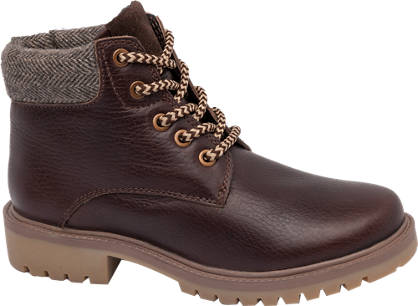 Memphis One Leather Lace Up Boot