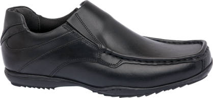 Memphis One Leather Slip On Formal Shoe