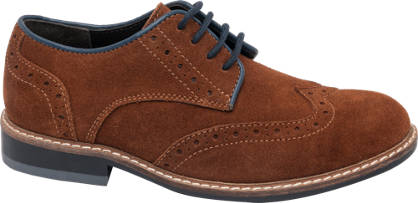Memphis One Teen Boy Leather Brogues
