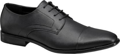 Memphis One Zwarte geklede schoen