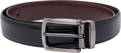 Black Casual Buckle Belt