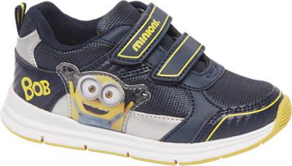 Minions Blauwe minion sneaker klittenband