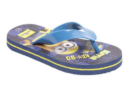 Minions Blauwe slipper
