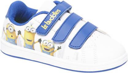 Minions Witte sneaker klittenband