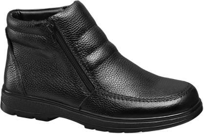Claudio Conti Leder Boots gefüttert