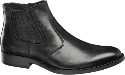 AM SHOE Leder Chelsea Boots