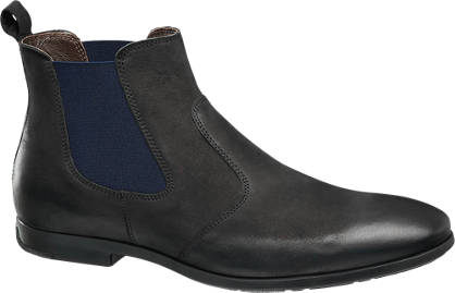 AM SHOE Leder Chelsea Boots
