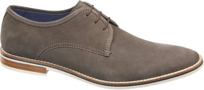 AM SHOE Veloursleder Business Schuhe