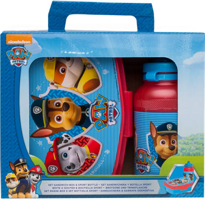 Paw Patrol Lunch Box and Bottle Combo