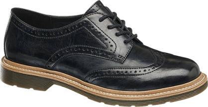 Graceland Perforált mintás dandy bokcipő