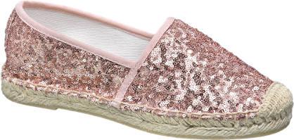 Graceland Pink flitteres espadrilles