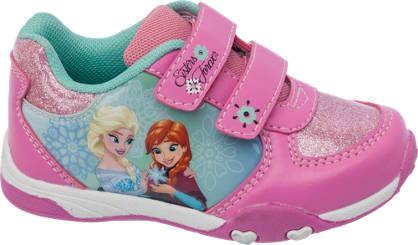 Frozen Pink tépőzáras lány sneaker