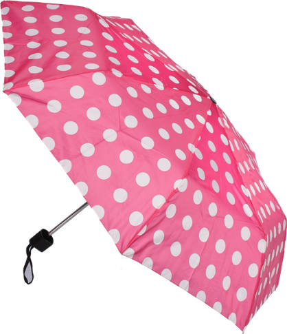 Polka Dot Compact Umbrella