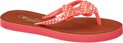 Cupcake Couture Pöttyös masnis flip flop papucs