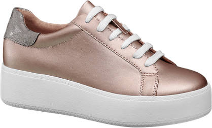 Graceland Roséarany platform sneaker