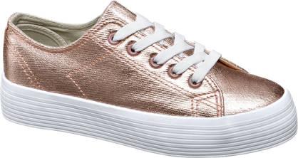 Vty Rozé arany platform sneaker