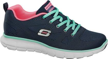 Skechers Donkerblauwe lightweight sneaker memory foam