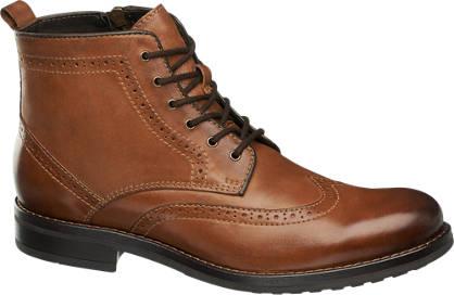AM SHOE Snørestøvle - Læder