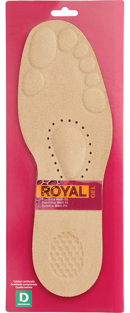 Soft Gel Comfort Insole (Size 9-10)