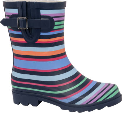 Striped Calf Welly