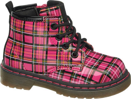 Cupcake Couture Toddler Girls Checked Ankle Boot