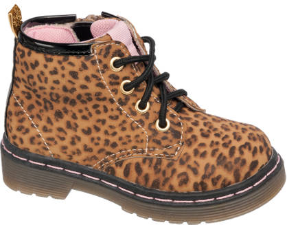 Cupcake Couture Lace Up Printed Boot