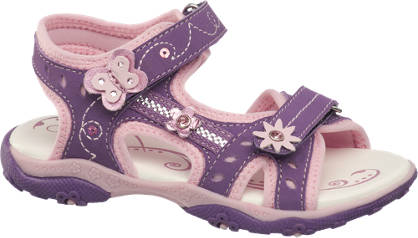 Cupcake Couture Toddler Girls Twin Strap Sandals