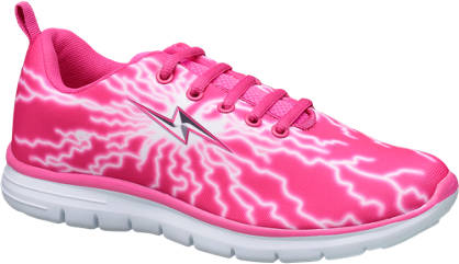 Vty VTY Teen Girls Lace-up Trainers