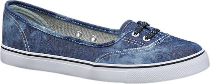 Vty VTY Ladies Slip-on Canvas
